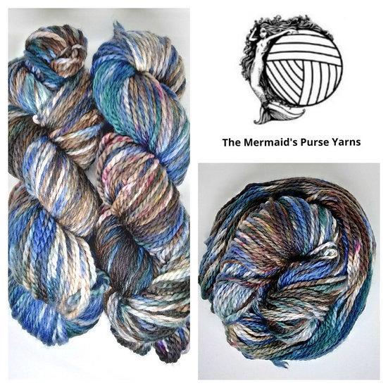 Tumbled Superwash Merino Aran Worsted Wool