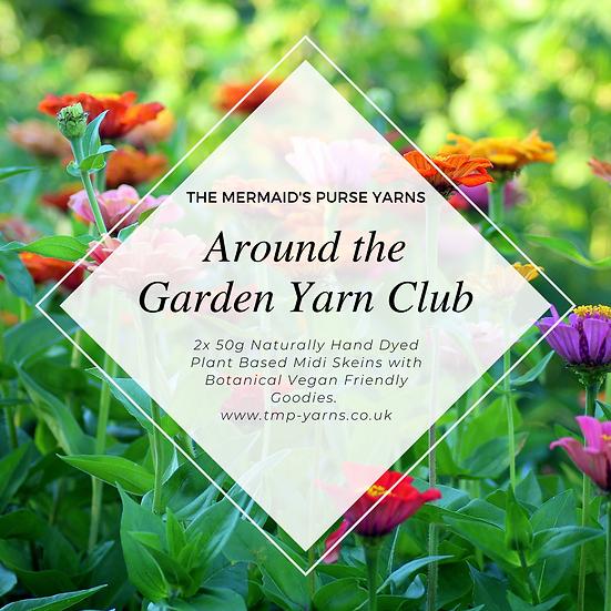 Around the Garden Yarn Club International Non-UK Postage