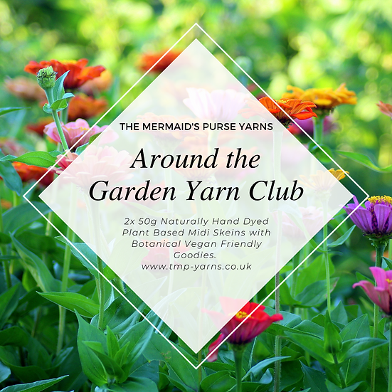 Around the Garden Yarn Club Domestic UK Postage