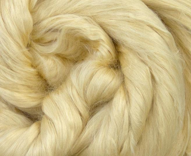 Soybean Soya Combed Top Roving Undyed Fibre 50g