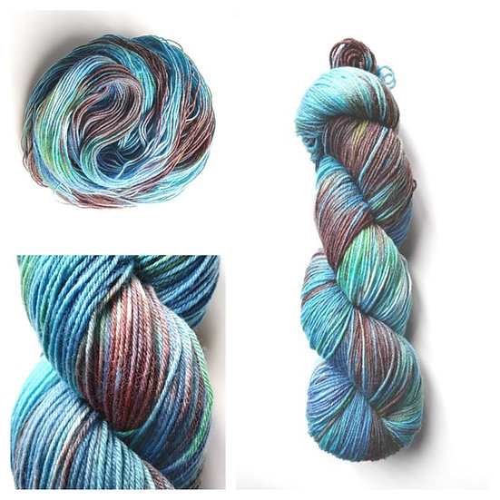 Isle of Harris available in 4ply, DK, Aran, Sock in Wool and Cotton