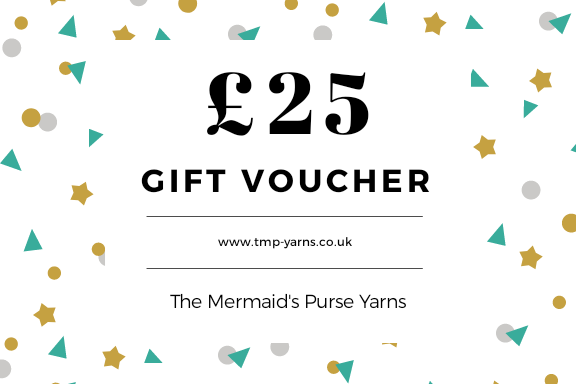 £25 Gift Voucher for The Mermaid's Purse Yarns