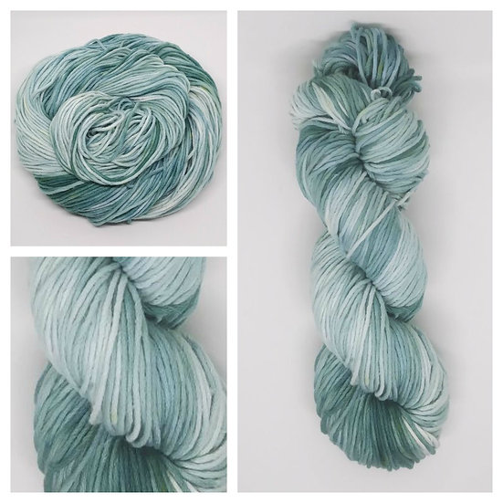 Green Eyes available in 4ply, DK, Aran, Sock in Wool and Cotton
