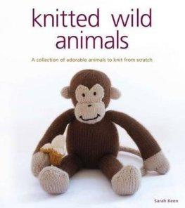 Knitted Wild Animals Book