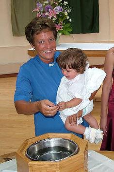 Baptism by Revd Chris Harrison