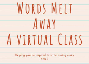 #26 Virtual Writing Classroom: Unexpected Adventures