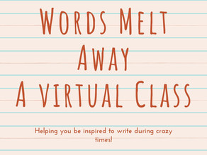 #30 Virtual Writing Classroom: Onward...