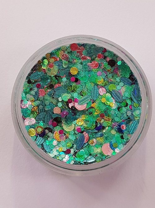 Mermaid Tail Essential Glitter Balm