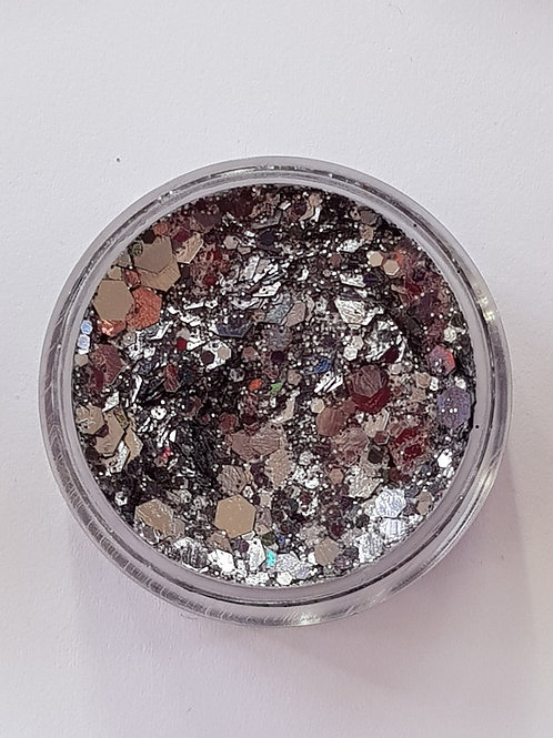 Gunmetal Black Essential Glitter Balm