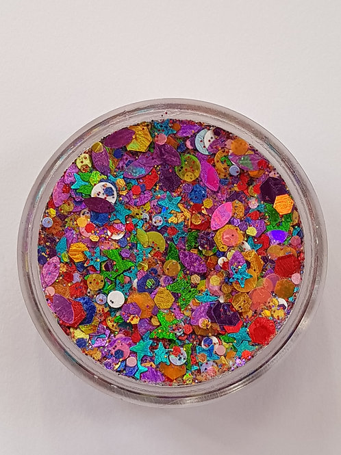 UV Over the Rainbow Essential Glitter Balm