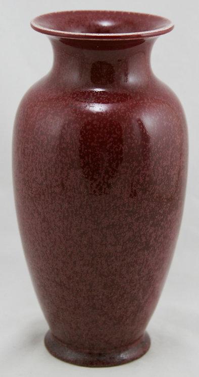 Chinese Import Sang de Boeuf Glaze Porcelain Vase 20th Century