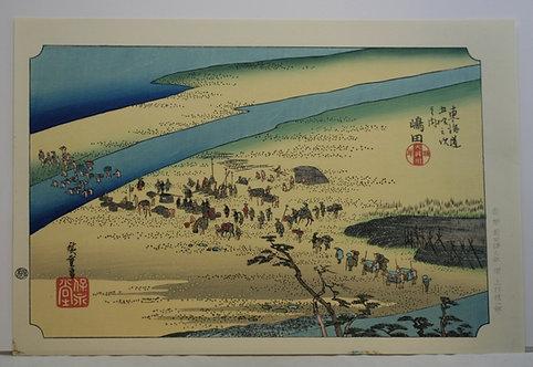 Utagawa (Ando) Hiroshige (1797-1858) 'Shimada'