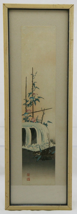 Shoda, Koho (1871-1946) 'Waterfall and Morning Glories'
