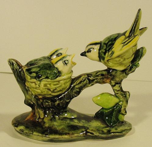 "$OLD! TY! Stangl 'Golden Crowned Kinglets' #3853 Bird 5"" Josephine Grazikowski"
