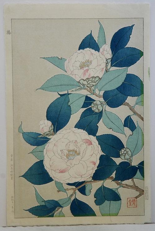 Kawarazaki Shodo (1889-1973) 'Camellias'