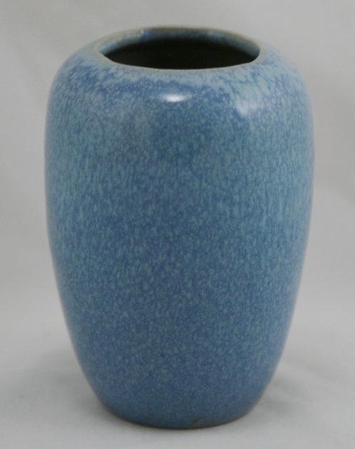Royal Hickman Petty Crystal Glaze Vase Marked 'Italian Blue' #501 Original Cond.