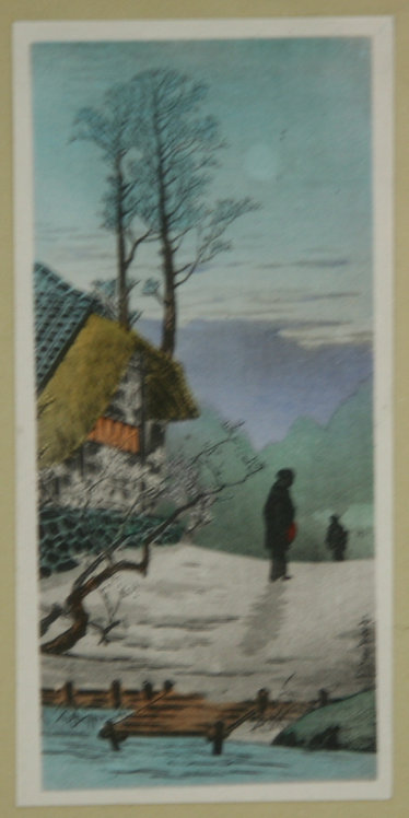 Takahashi Shôtei (1871-1945) 'Moon at the Old Country House'