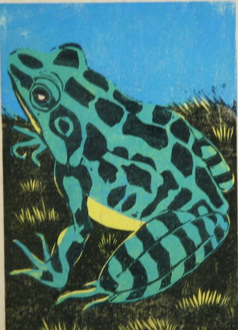 $OLD! C. George Speck (1928-2018)  Charlottesville, VA/East Village, NY 'Frog'
