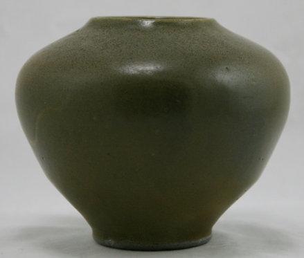 Jugtown Ovoid Vase in Frogskin Glazes c1923-59 Original Condition