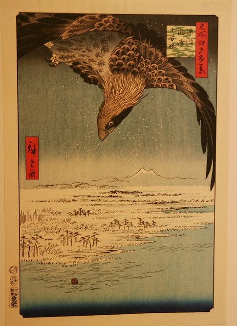 Utagawa (Ando) Hiroshige (1797-1858) Jumantsubo Plain at Susaki, Fukagawa