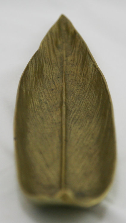 "Virginia Metalcrafters 10"" Butterfly Bush Metal Leaf Tray d1948"