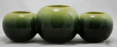 Hull Pottery Novelty Triple Ball Planter