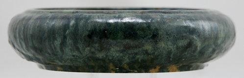 Fulper Bulb Bowl c1917-1934 In Green/Blue Lumpy Glaze Combination F445