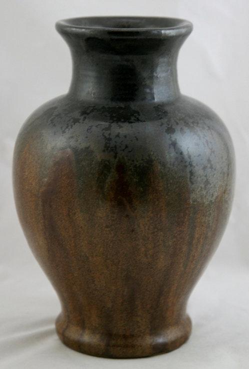 """Fulper 9.5"""" Vase C1917-1927 In Deep Copperdust Semi-Matte Glazes"""
