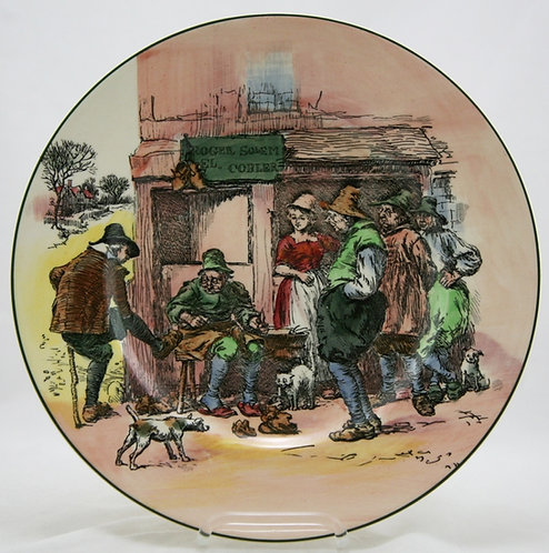 "Royal Doulton 10.5"" El Cobler Plate D:6302 Mint"
