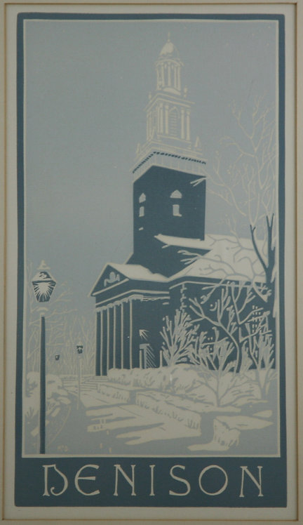 McDonald (Dates Unknown) 'Swasey Chapel at Denison University'