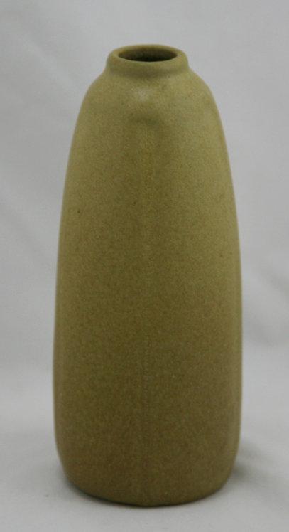 "Van Briggle 5.5"" Vase #838 Dated 1916 in Mustard Mat Glaze Original Condition"