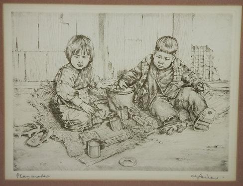 Willy Seiler (1903-1997) 'Playmates'