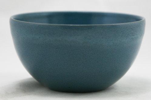Paul Revere Pottery Finger Bowl in Blue Frothy Glaze c1915