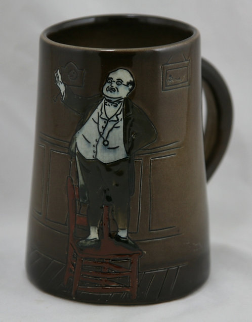 "Weller Dickensware II 5.5"" 'Mr. Pickwick' Mug By Edwin L. Pickens"