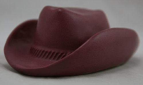 Van Briggle Pottery Hat in Light Mulberry Glaze