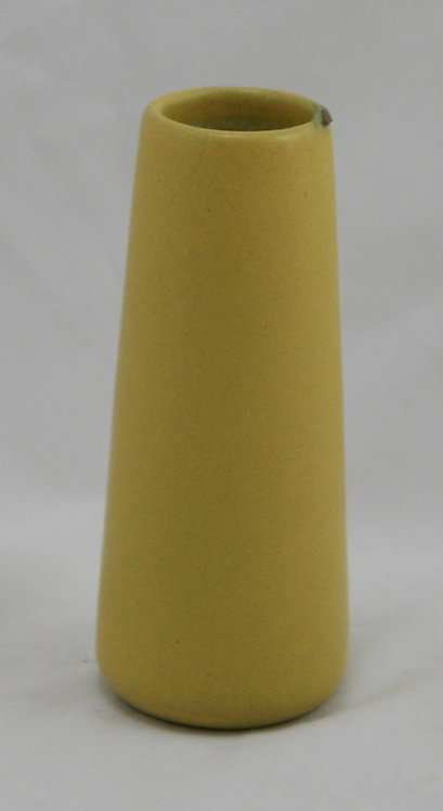 Marblehead Pottery Bud Vase in Mustard Glaze c1915-20