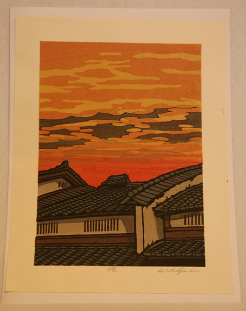 Katsuyuki Nishijima (1945-) 'Color of Evening'
