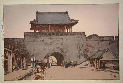 Hiroshi Yoshide 'Dainan Gate at Mukden'
