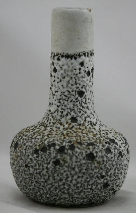 "Pigeon Forge 6"" Vase by Doug Ferguson In Volcanic White/Coffee Glazes Mint"