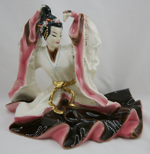 Goldcrest Ceramics Chinese Noble Lady Designed by Kathi Urbach Stunning