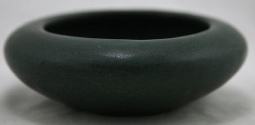 Peters & Reed Zaneware Bulb Bowl In Deep Matte Green/Blue Glaze