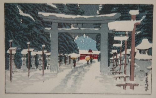 After Yasuji (Yasujiro), Inoue (1864-1889) 'Toshogu Shrine, Ueno'