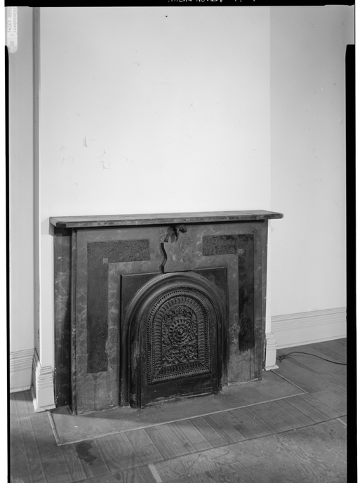 1974 - VIEW SHOWING FIREPLACE AND MANTEL