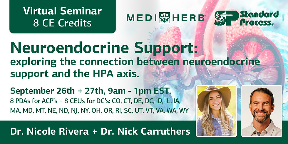Exploring the Connection Between Neuroendocrine Support and the HPA Axis (Dr. Nicole Rivera + Dr. Nick Carruthers)