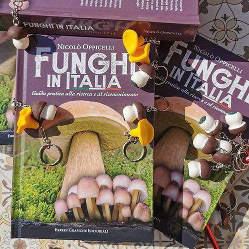 Funghi in Italia - La Guida - Copertina Rigida e Portachiavi esclusivi