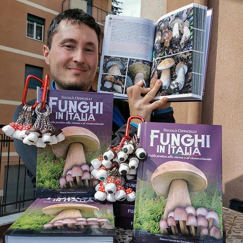 Funghi in Italia - Cover Rigida e Portachiavi artigianali