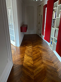 Rénovation murs et sols d'un 3 pièces - Paris (75)