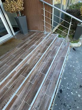 Rénovation d'un escalier extérieur (93)