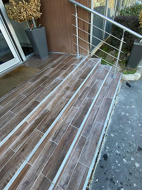 Restauration d'un escalier extérieur (93)