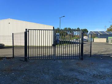 Projet de terrassement et déplacement d'un portail à Mulsanne (72)